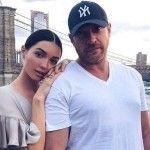 Анастасия с отцом