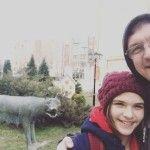 Дмитрий Орлов с дочкой