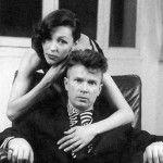 Эдуард Лимонов с женой Натальей