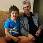 Лимонов с сыном Богданом