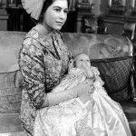 Елизавета с принцессой Анной