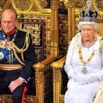 На королевском троне