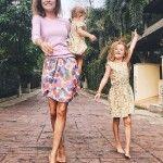 С дочками Полиной и Евой