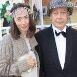 Софья Кругликова с мужем