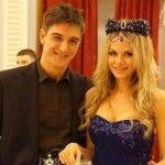 Аурика Алехина с мужем Станиславом Бондаренко