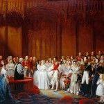 Свадебное торжество королевы и принца