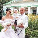 Венчание с женой Ладой