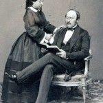 Виктория с супругом