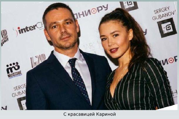 Актер с дочерью
