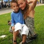 Даниил Грамматиков с мамой