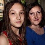 Дочь и бывшая супруга певца