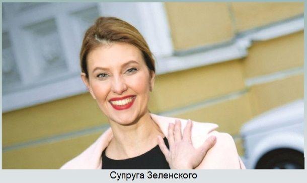 Супруга Владимира Зеленского