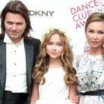 Маликов с женой и дочкой