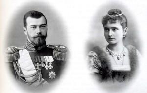 Николай 2 с супругой