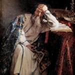 Портрет царя в исполнении художника Лебедева