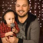 С сыном Мирославом