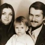 С Татьяной Пискуновой и дочкой