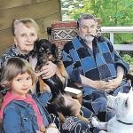 Ширвиндт с семьей