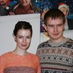 Анна Старшенбаум с мужем