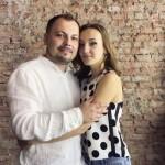 Ярослав Сумишевский с дочкой