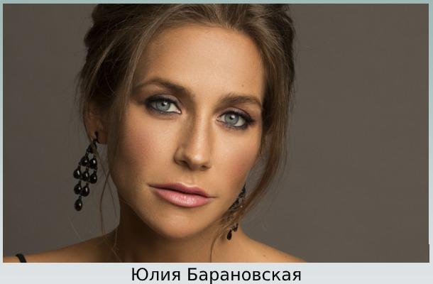 Телеведущая Барановская
