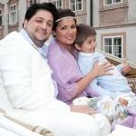 Юсиф Эйвазов со своей семьей