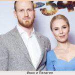 Хоккеист с женой