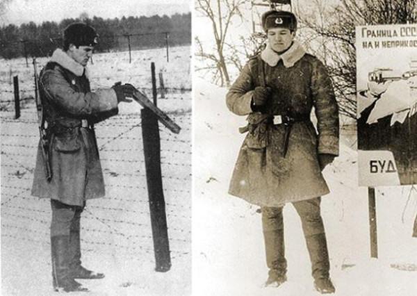 Александр Лукашенко во время службы в армии