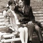 С будущей женой Галиной