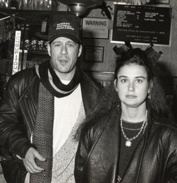 Брюс и Деми в молодости
