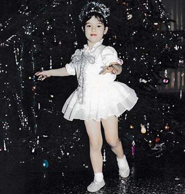 Юлия Паршута в детстве