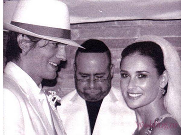 Свадьба Эштона и Деми