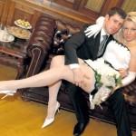 Кадр со свадьбы