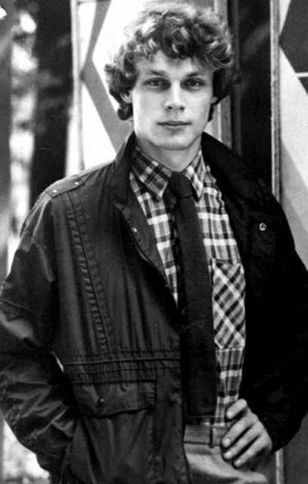 Сергей в юности