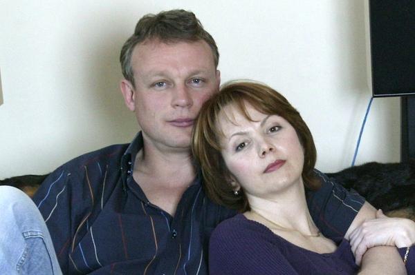 Жигунов с супругой