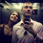 Личный снимок с мужем