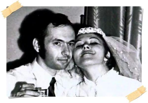 Кадр со свадьбы с первым мужем