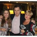 С Александром Плаксиным и дочерью