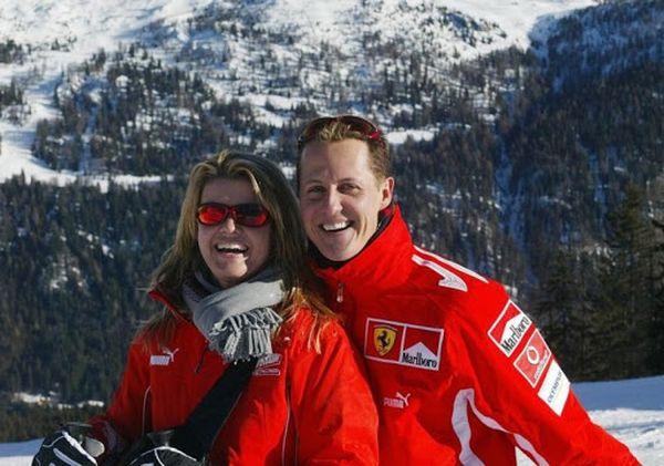 С женой в горах