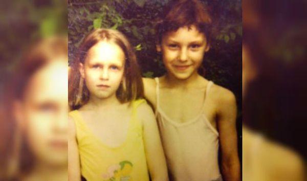 Ирина Горбачева в детстве
