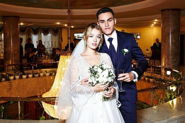Свадебное фото сына Андреева
