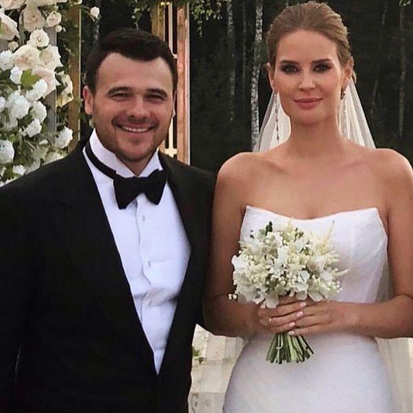 Фото со свадьбы с Агаларовым