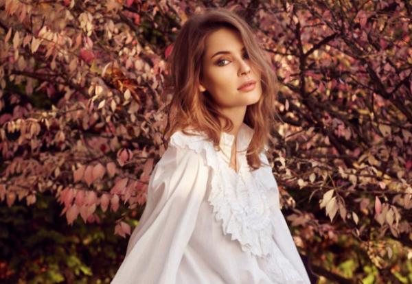 Алена Гаврилова на фотосессии