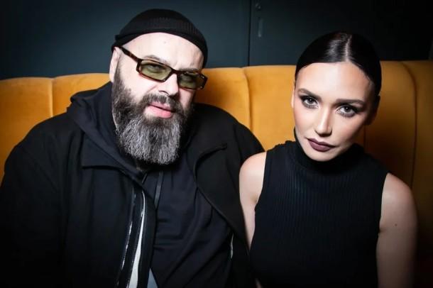 Макс Фадеев с Ольгой Серябкиной