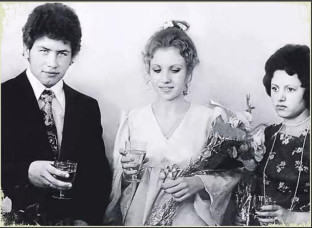 Николай Расторгуев с первой женой Валентиной