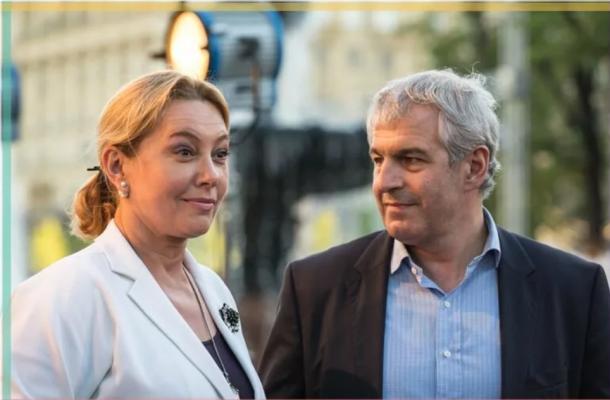 Арина Шарапова с третьим супругом - Кириллом