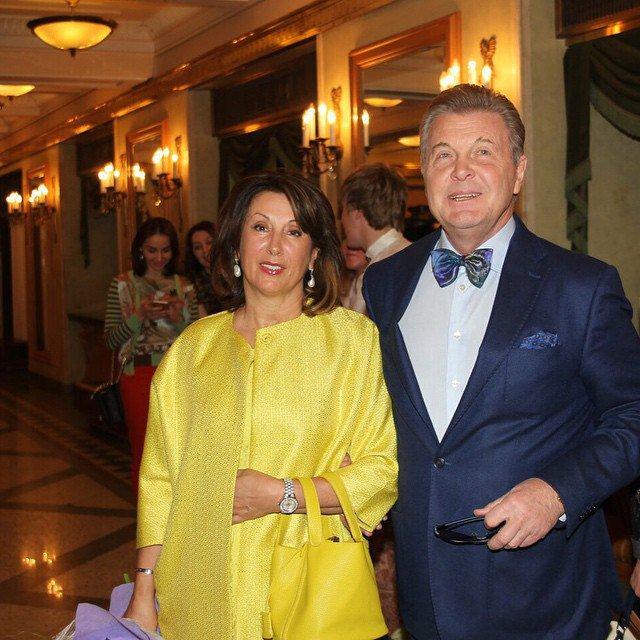 Как выглядит жена Льва Лещенко