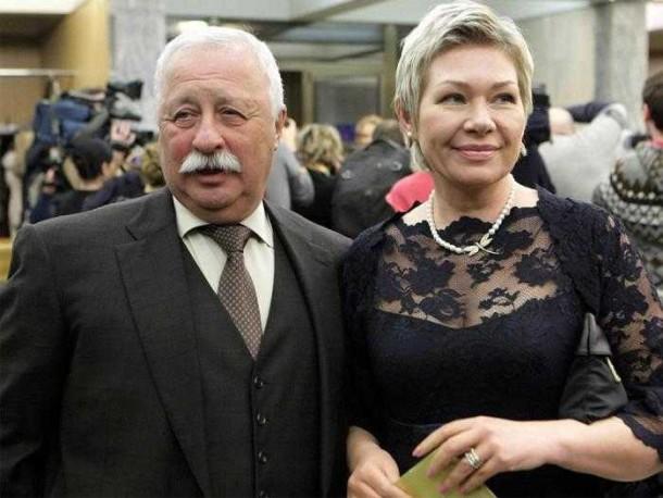 Как выглядит жена Леонида Якубовича
