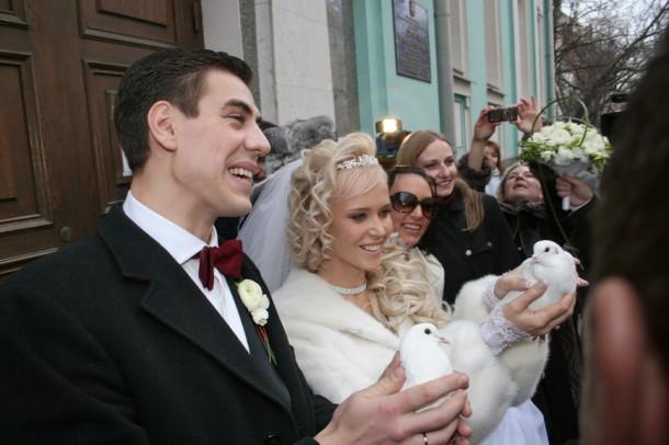 Свадьба Дмитрия Дюжева