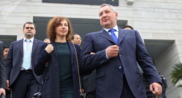 Как выглядит жена Дмитрия Рогозина